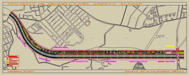 Overview of First Stage Arroyo Alamar Sustainable Architectural Design.