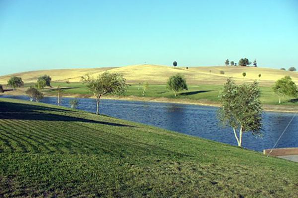 Salinas river at Paso Robles.