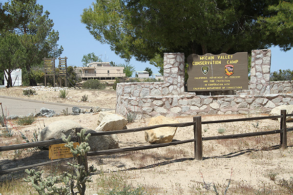 The McCain Valley Conservation Camp