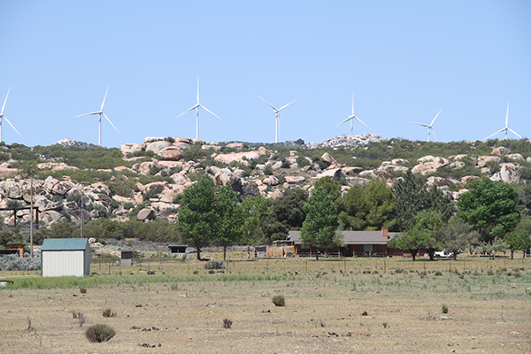 Kumeyaay Wind Project, Campo Indian Reservation, California