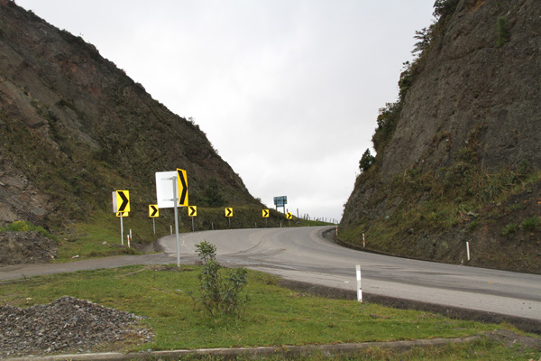 The lowest point on the road (pass) from Loja to Catamayo
