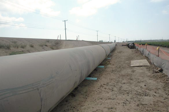 Construction of the Calleguas salinity 