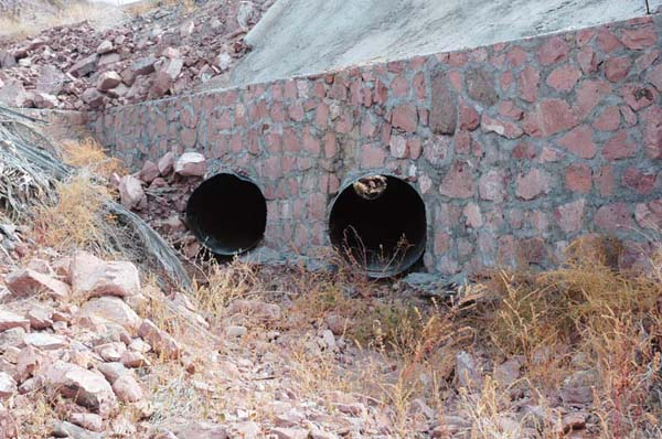 Culverts made with corrugated aluminum