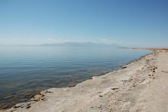 The Salton Sea, in California, a repository of agricultural drainage