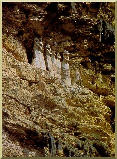 Sarcophages of Karajia, near Lamud