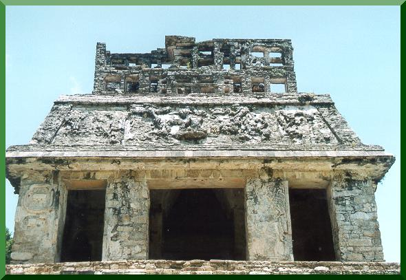 Building in Palenque.