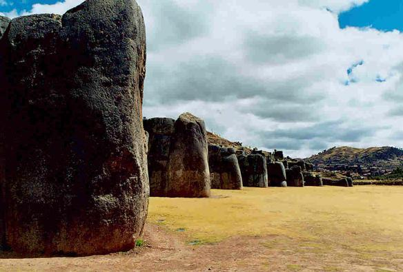 Side view of Sacsayhuaman