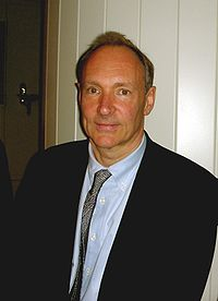 Tim Berners-Lee, inventor of<br>the worldwide web
