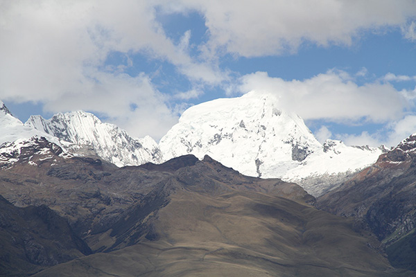 The White Range in Peru